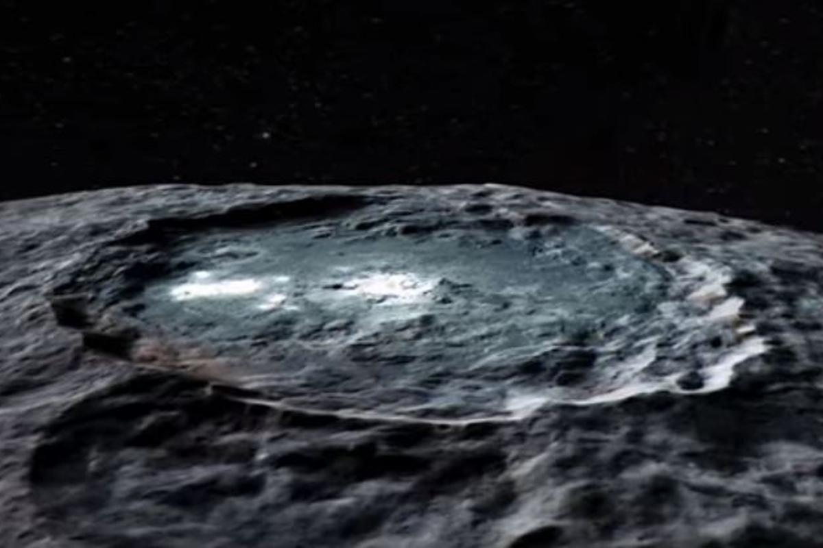 The bright spots of Occator crater