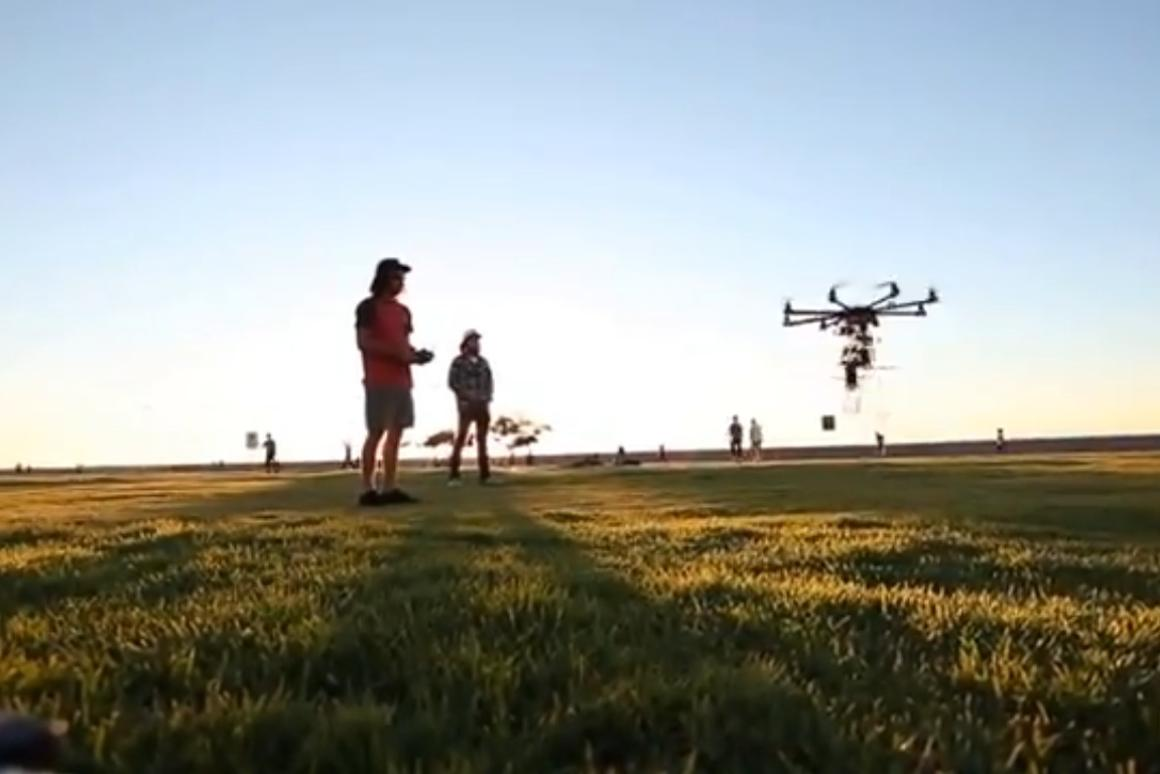A flying drone will be delivering beer at this year's Oppikoppi music festival in South Africa