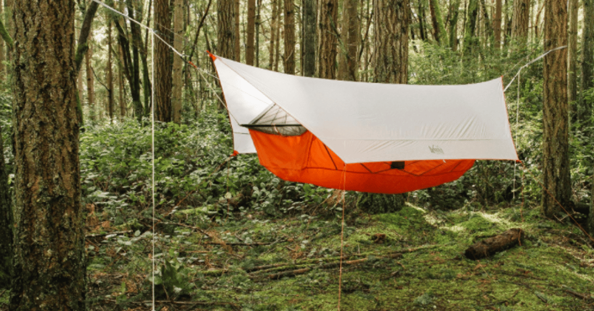 REI gives campers another reason to leave the ground for the trees