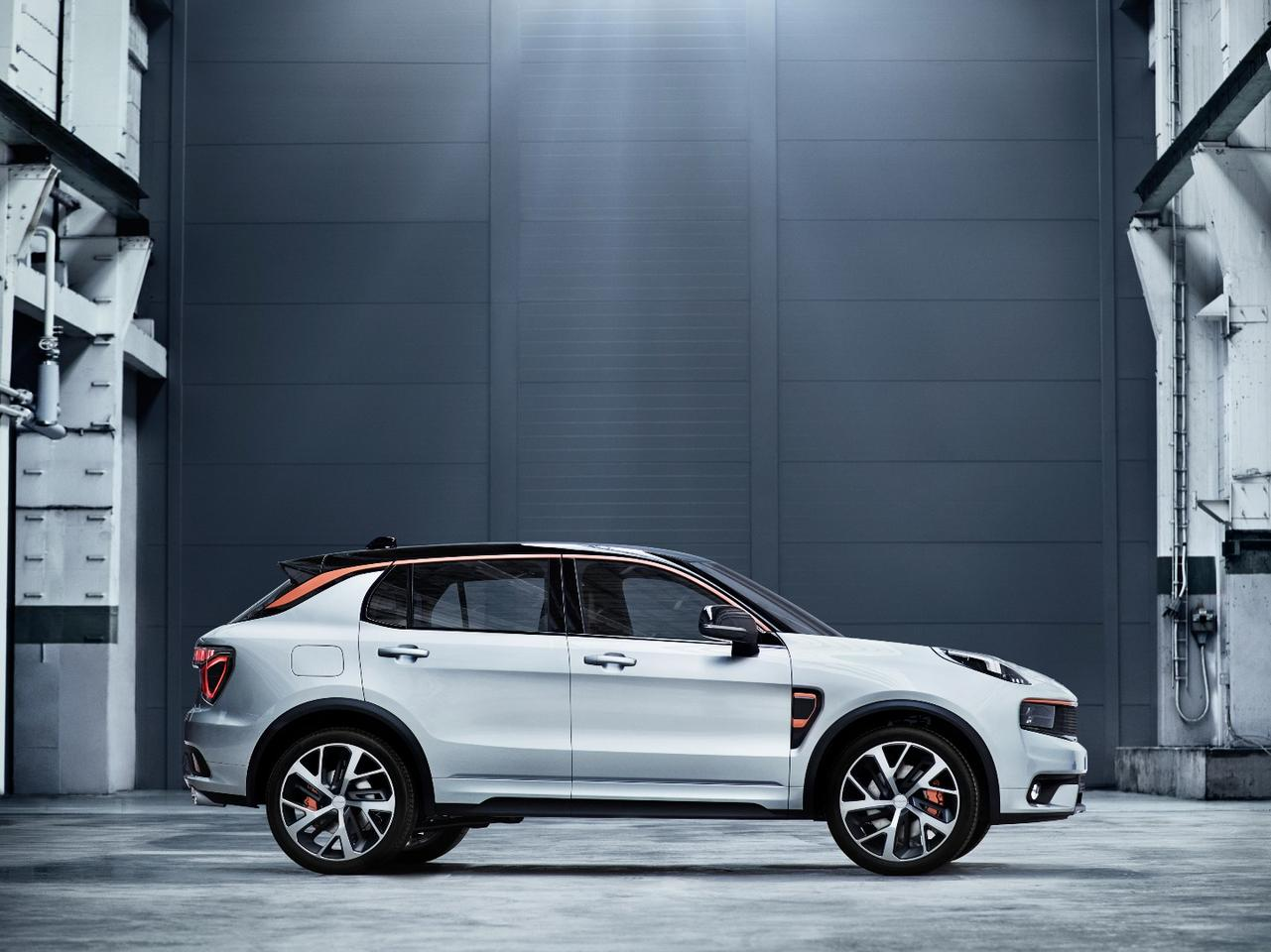 The Lynk & Co 01 shares parts with Volvos