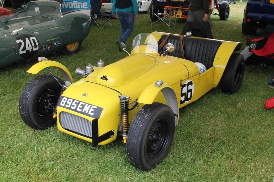 1954 Lotus MK6 driven by Terence Tumbler