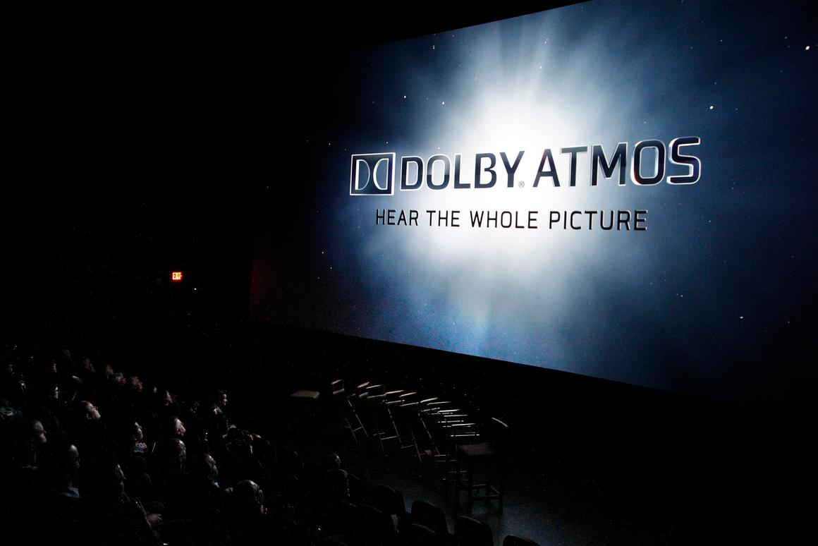 Dolby is bringing its Atmos sound technology that is used in cinemas into home living rooms