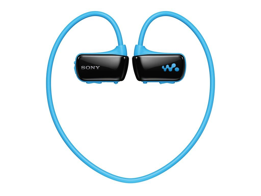 Sony's Walkman Sports MP3 Player will be available in blue, pink, white, and black and is set to be released in March at a price of US$99.99