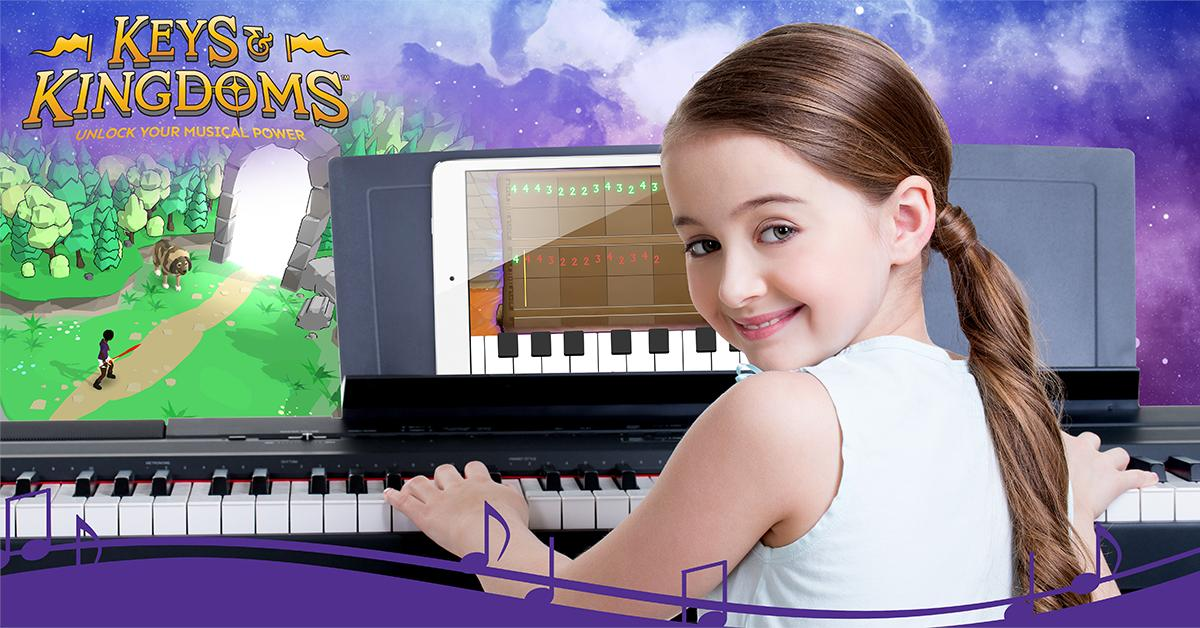 The skills and songs learned in the game can be transferred to a real piano