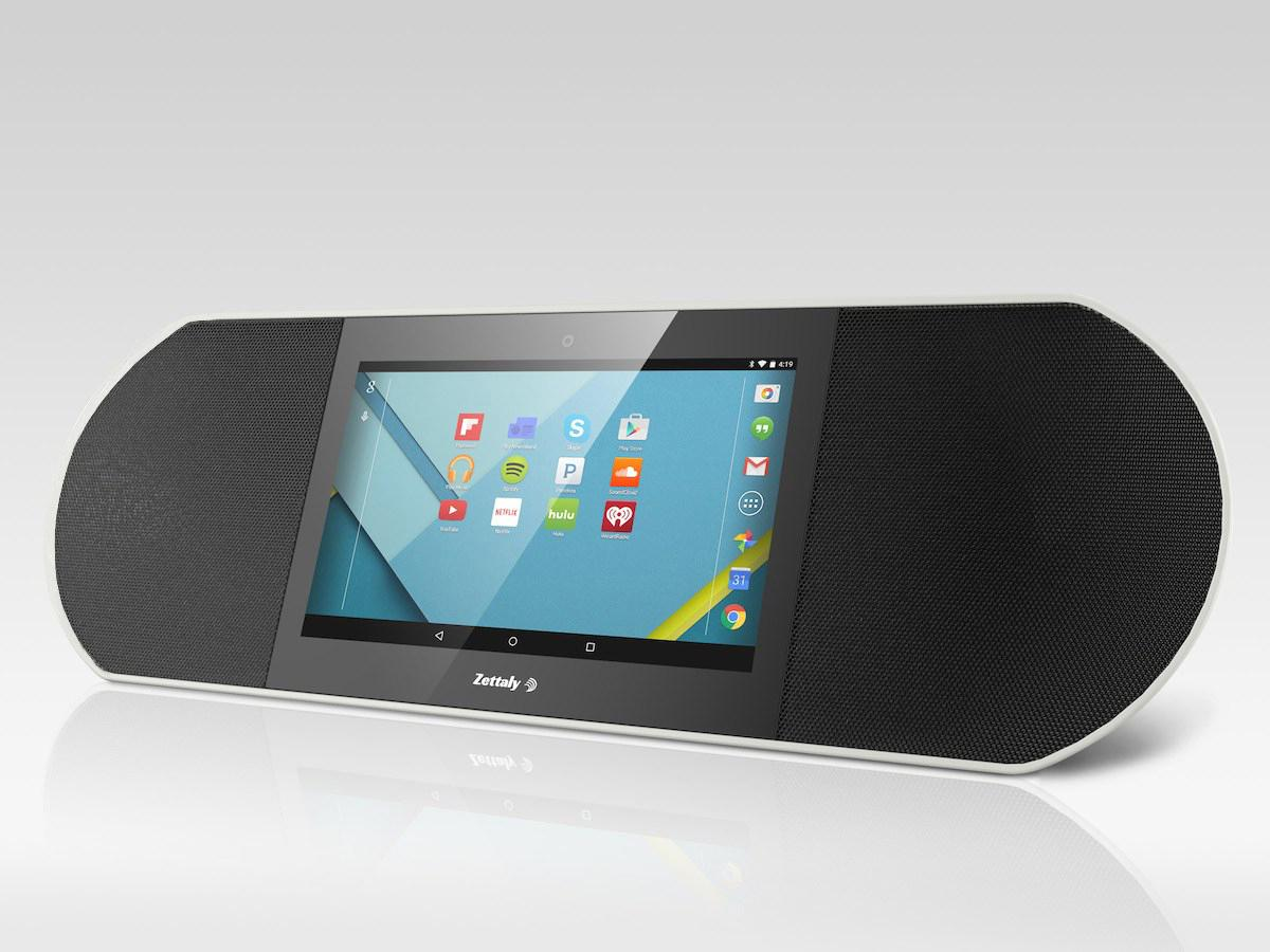 The Zettaly Avy adds two 5 W 10-in speakers to an Android tablet