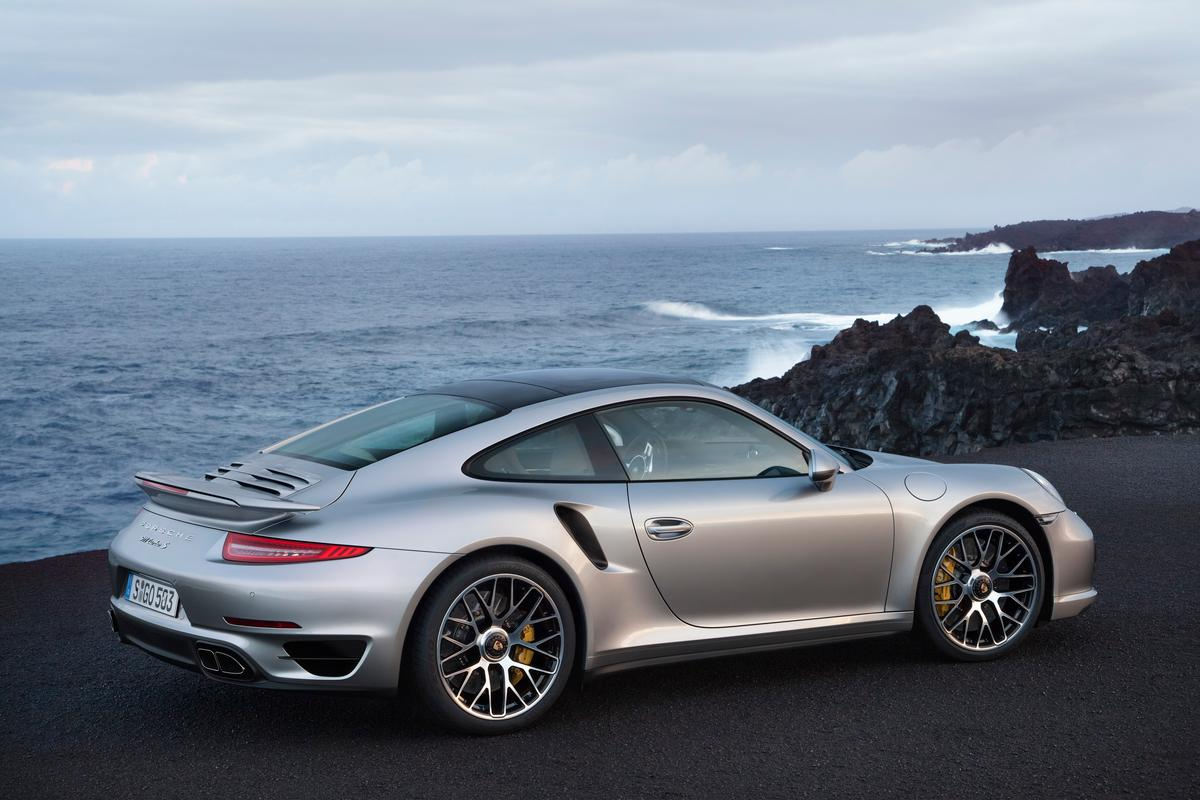 Porsche reports a lap time around the Nurburgring in the new Turbo S of just under 7 minutes 30 seconds