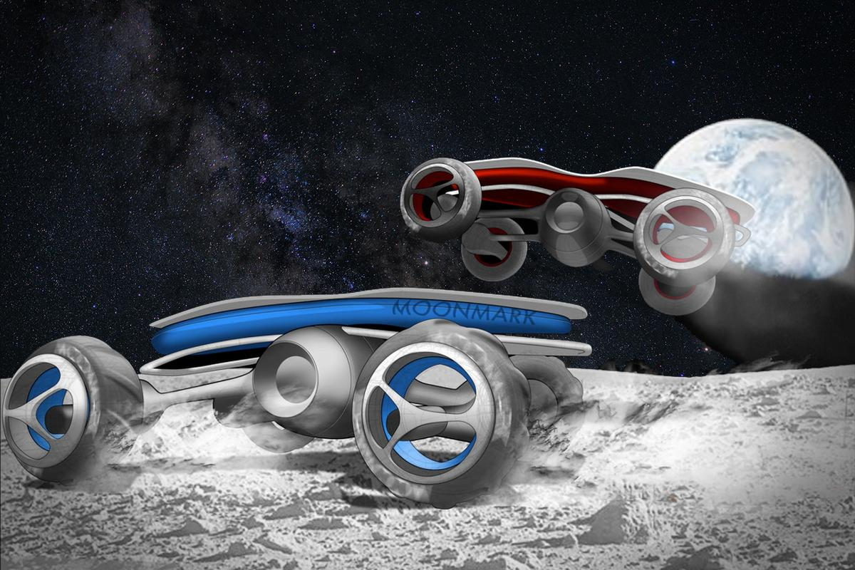 The Moon Mark project: a remote-controlled car race on the lunar surface is due to take place in 2021