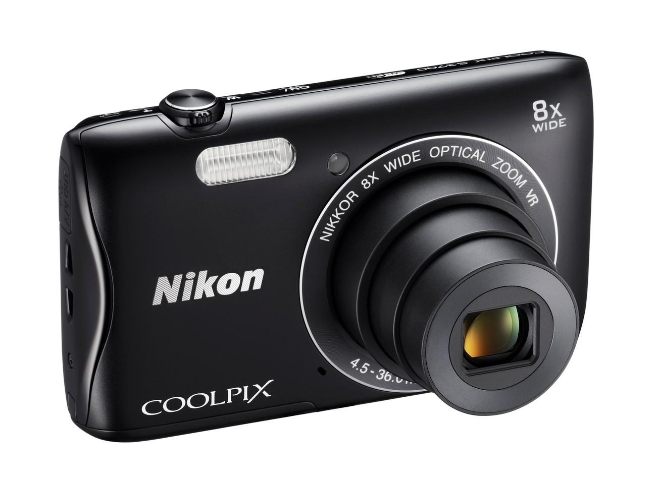 The Nikon Coolpix S3700 will be available later this month for US$140