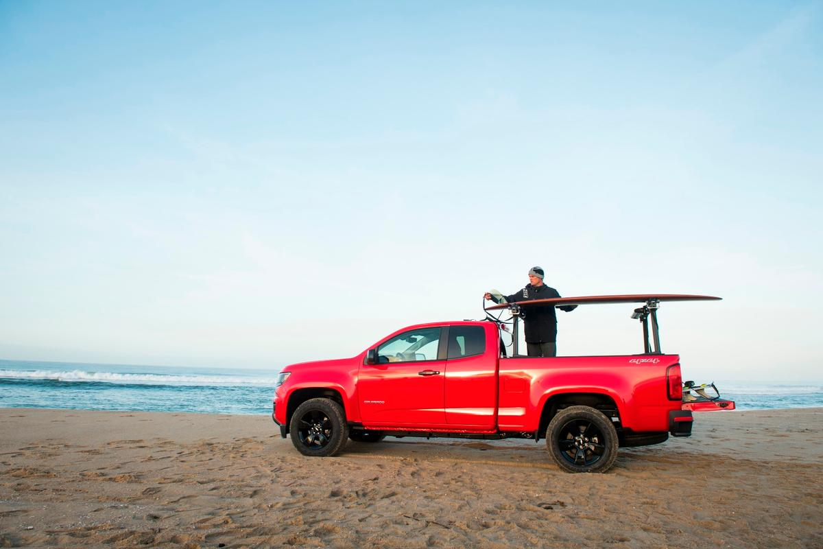 The new Colorado gets more gears, more power and better fuel economy