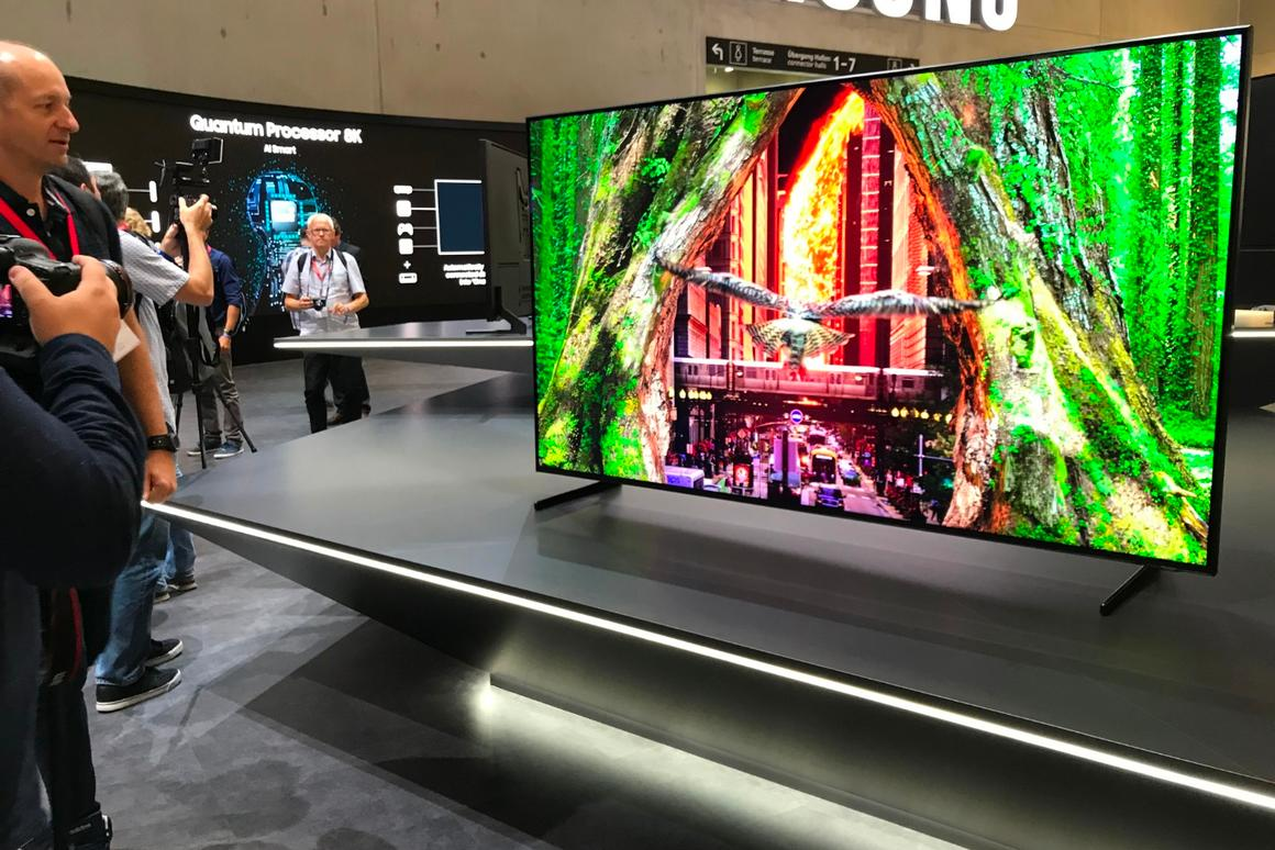 Samsung enters the 8K fray with big screen QLED TVs