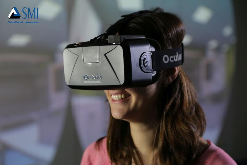 SMI's new technology adds eye-tracking to the Oculus Rift DK2