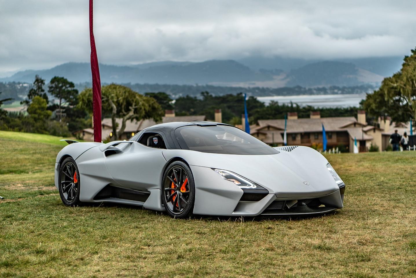 The Tuatara is pretty in white