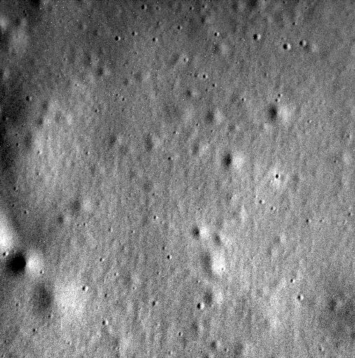 The final view of Mercury captured by the MESSENGER spacecraft in 2015 prior to slamming into the surface of the planet
