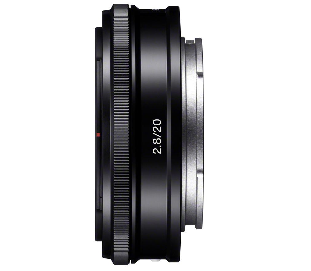 The Sony 20mm F2.8 is said to be equally suitable for shooting landscapes, street scenes or casual snaps