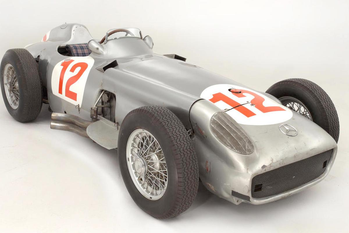 The Mercedes-Benz W196R sold this for £17.5 million on 12 July