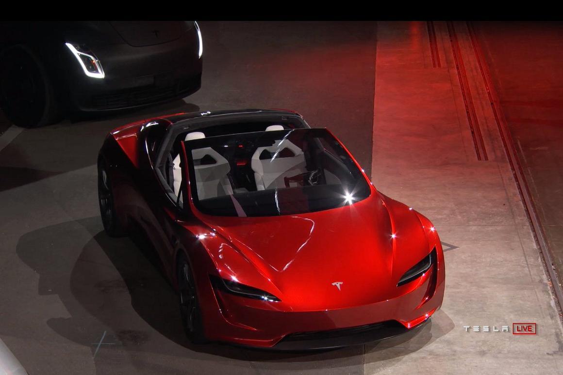 2020 Tesla Roadster >> Tesla Reveals Insanely Fast Next Gen Roadster