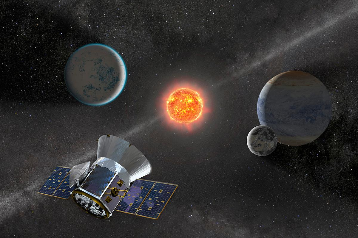 TESS is designed to hunt for exoplanets
