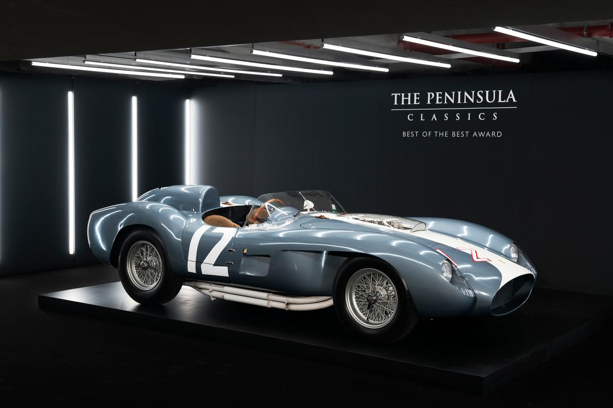 The winning honour of the fifth annual The Peninsula Classics Best of the Best Award goes to 1958 Ferrari 335 S Spyder featuring coachwork by Scaglietti