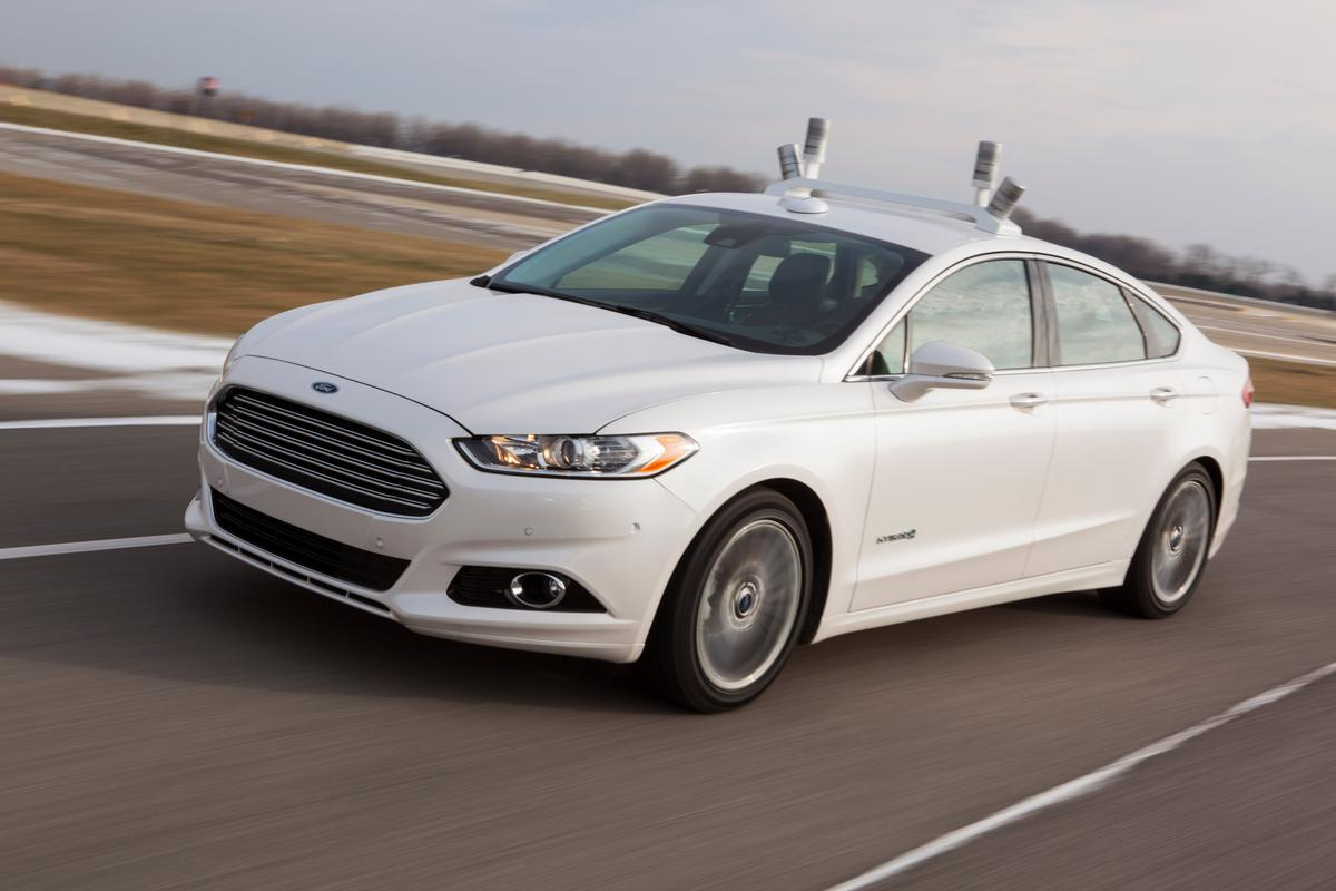 The newly detailed research vehicle is part of Ford's Blueprint for Mobility