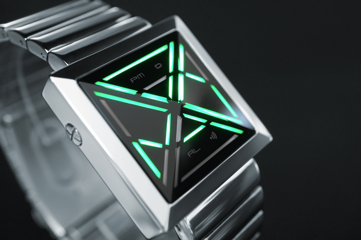 The Kisai X is a fan-submitted design which draws inspiration from cryptography