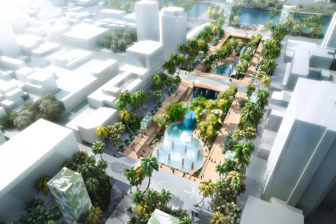 Construction of the lagoon is expected to begin late next year