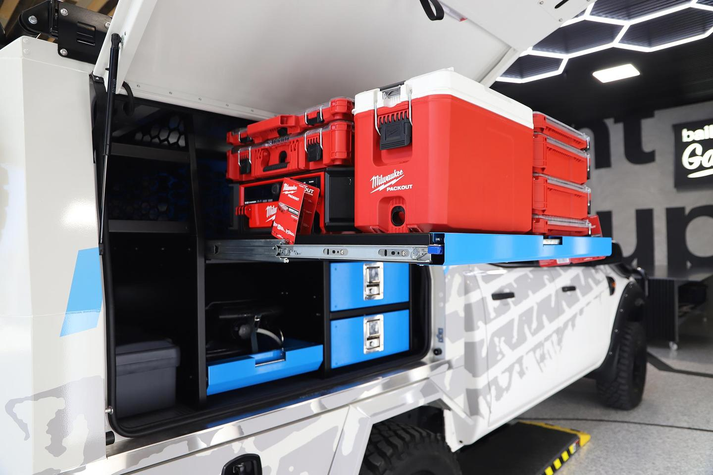 One of many modular toolbox systems on the market today, Milwaukee's Packout series includes various sizes of interlocking toolboxes, bins and hardware cases, along with compatible equipment and accessories like a cooler and wet/dry vac