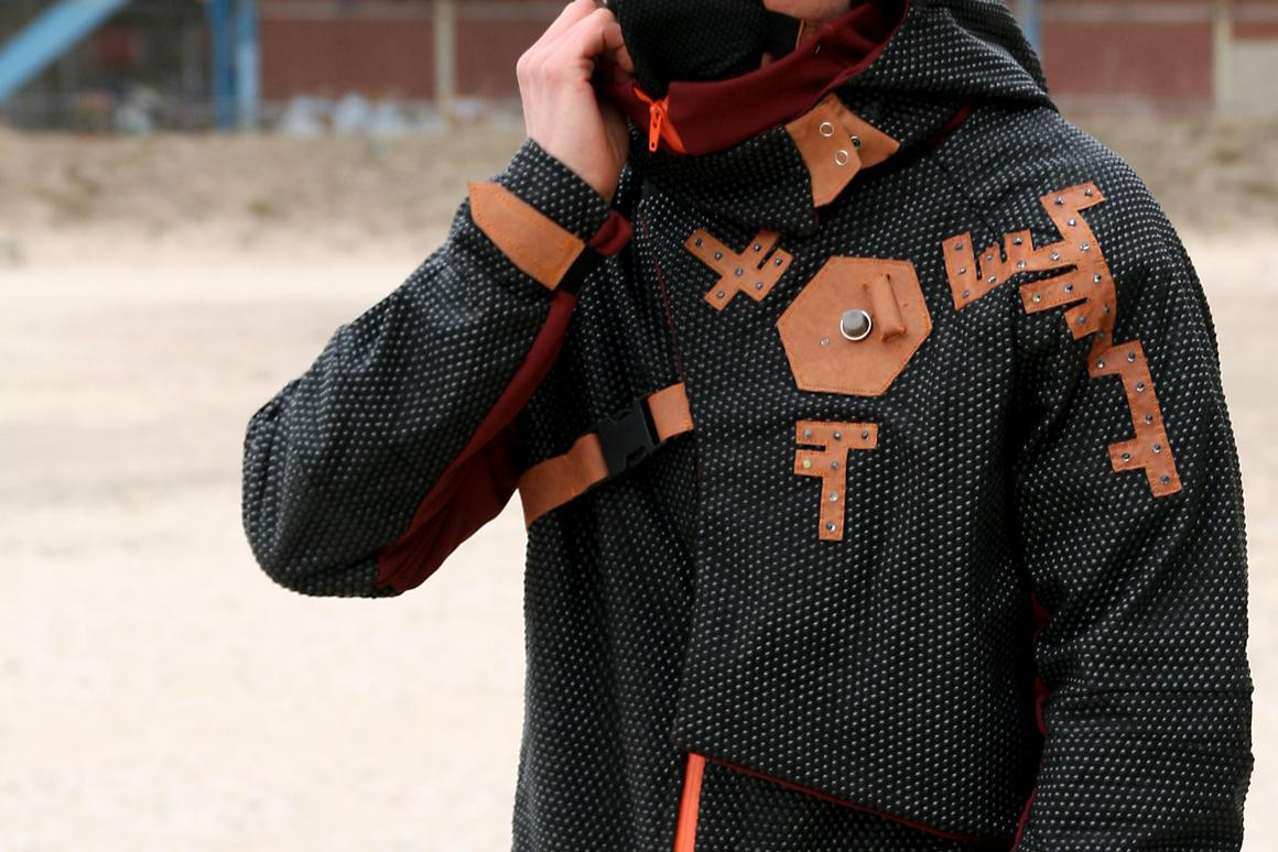 The pollution-sensing Aegis Parka
