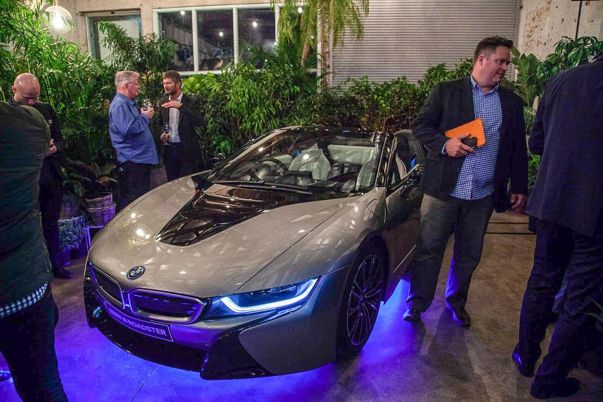 Last night's Melbourne launch of the highly desirable i8 Roadster