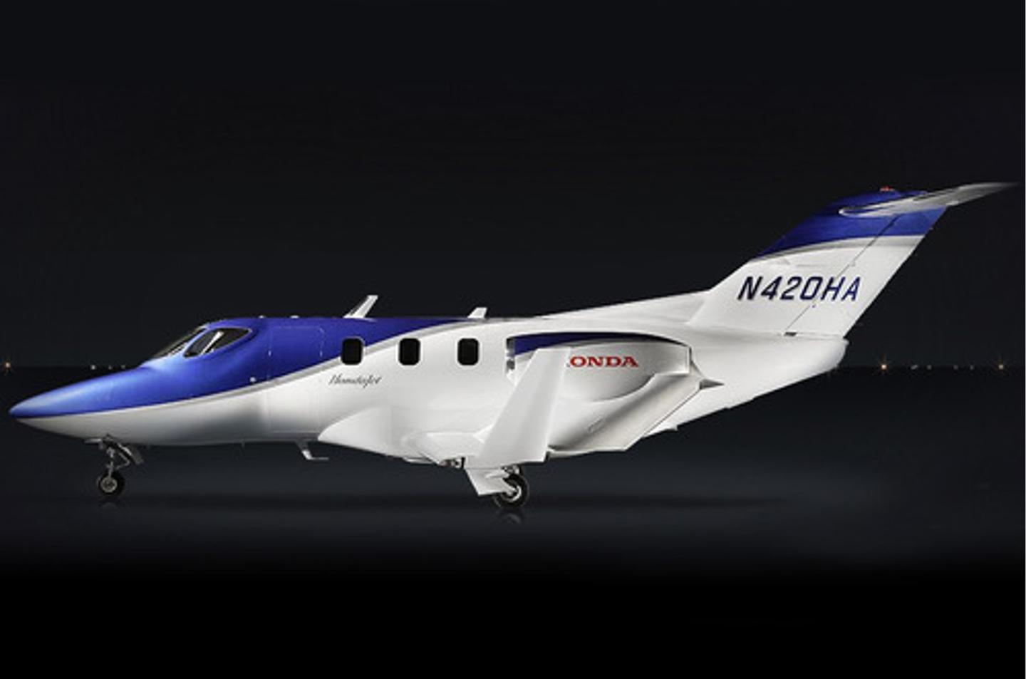The HondaJet is Honda's first entry into the aircraft field
