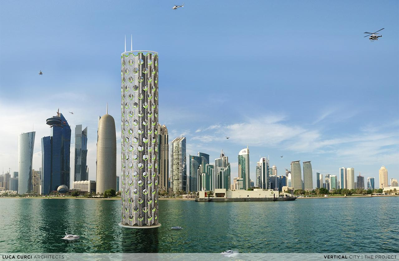 Vertical City is big on ambition, and Luca Curci also says it would like to make it sustainable