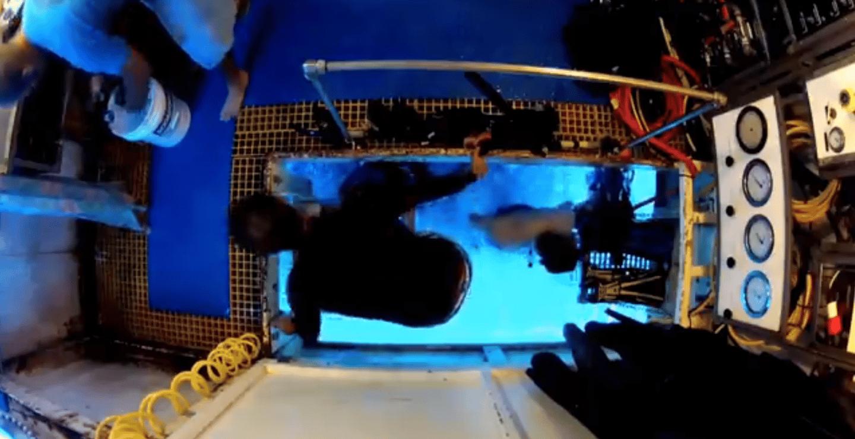 Interior of the Aquarius Reef Base