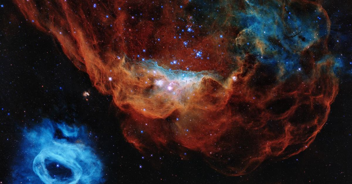 Hubble celebrates 30 years of exploring the cosmic ocean