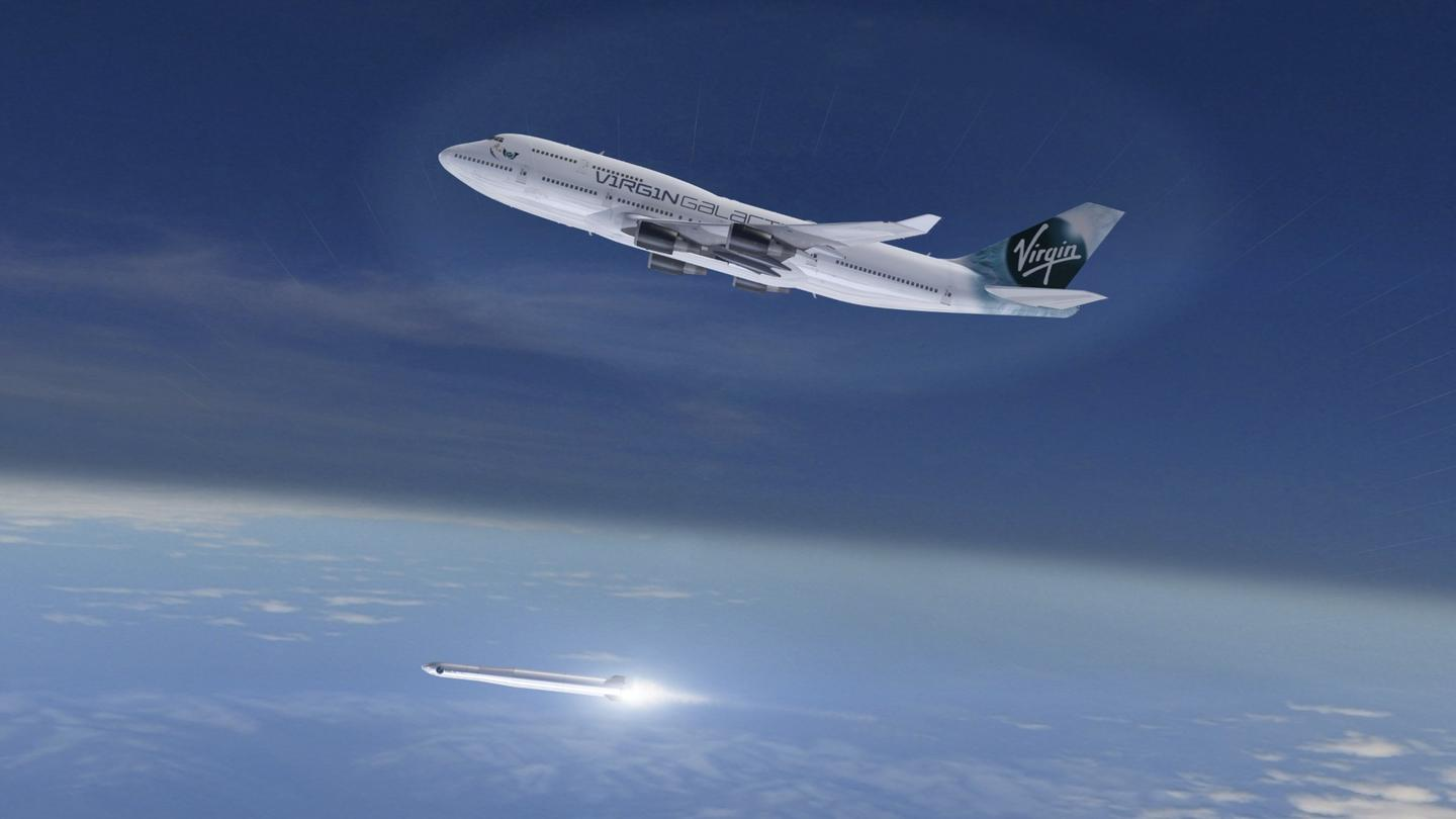Virgin Orbit will launch satellites into orbit using the LauncherOne vehicle, which is released from a 747-400 aircraft