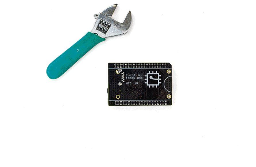 CHIP is a full Linux system for US $9 (Image: Kickstarter/Next Thing Co.)