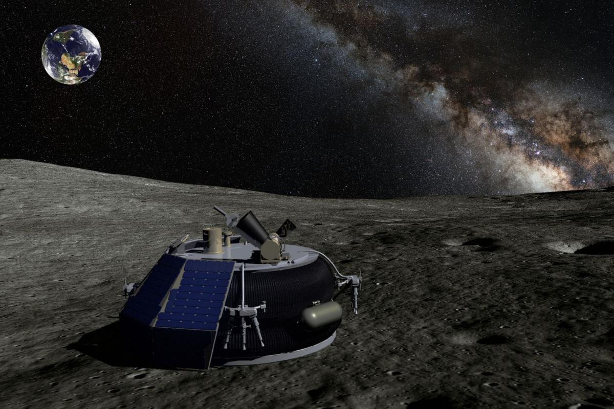 The Moon Express MX-1 Lander (Image: Moon Express, Inc.)