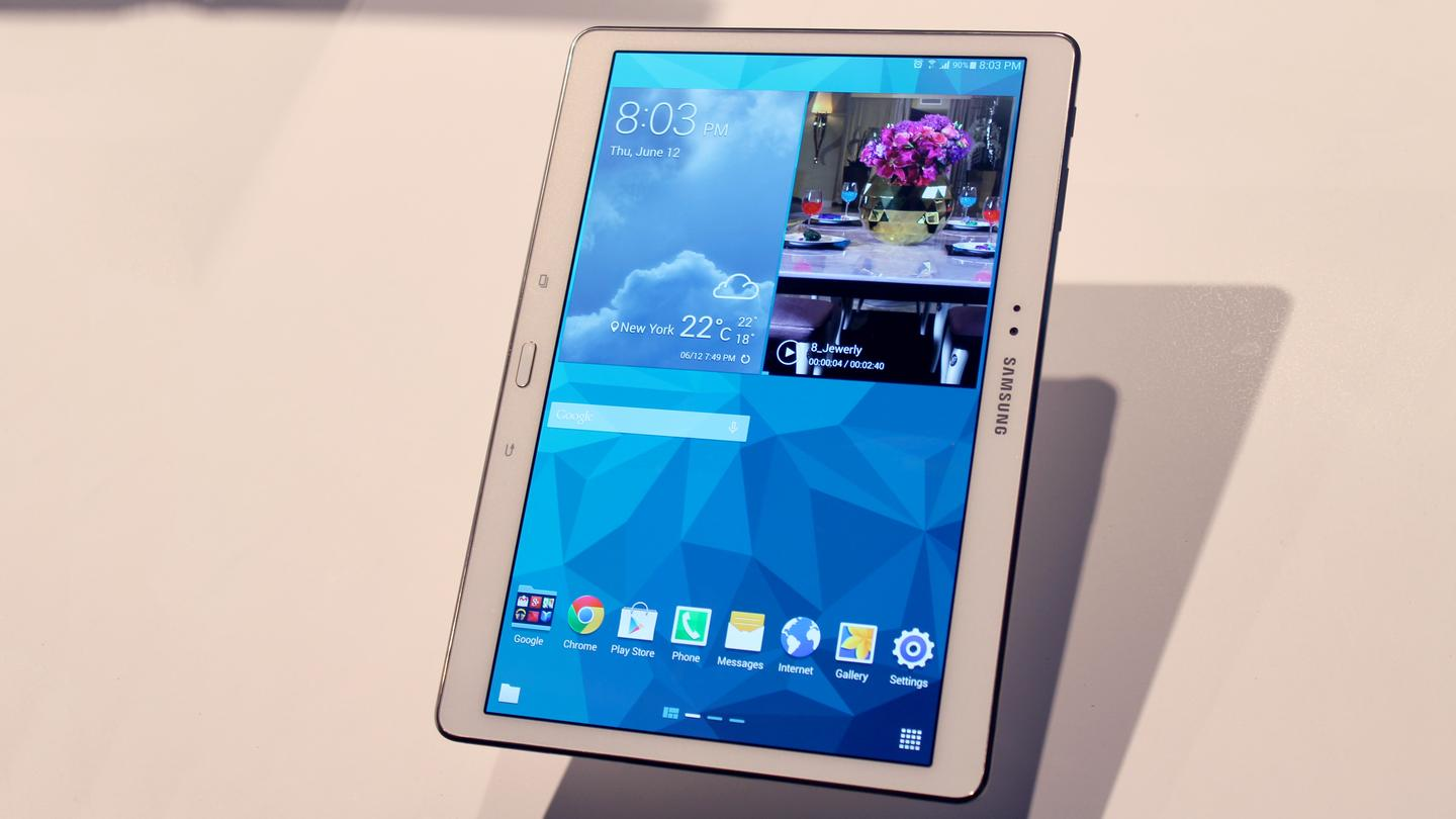 The Galaxy Tab S (10.5-in version)