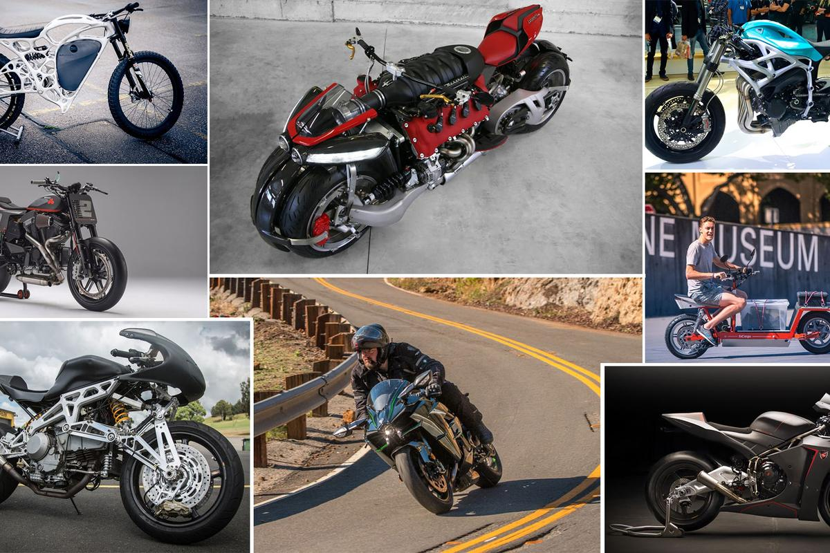 From the sublime to the ridiculous, 2016 has been a bumper year for eyebrow-raising motorcycles