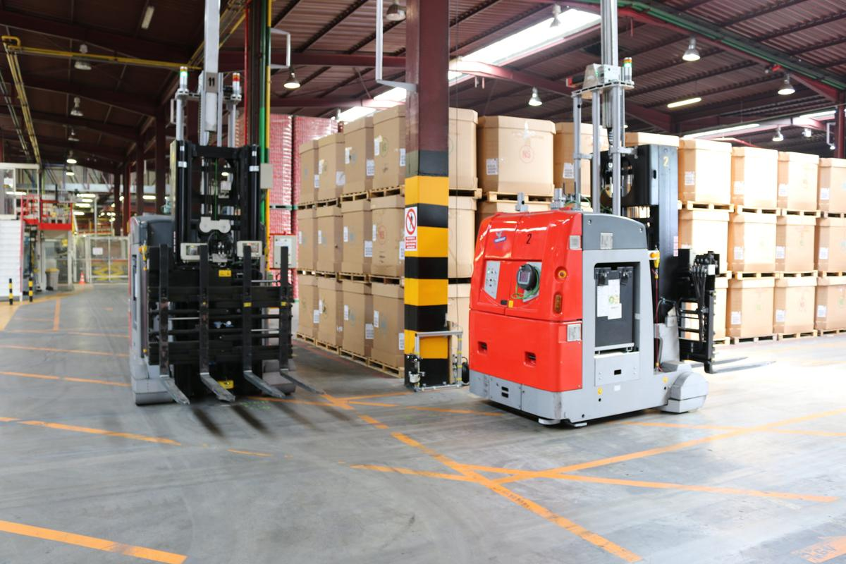 The Pan-Robotics project aims at using robots to improve supply warehouse operations (Photo: PAN-Robots)