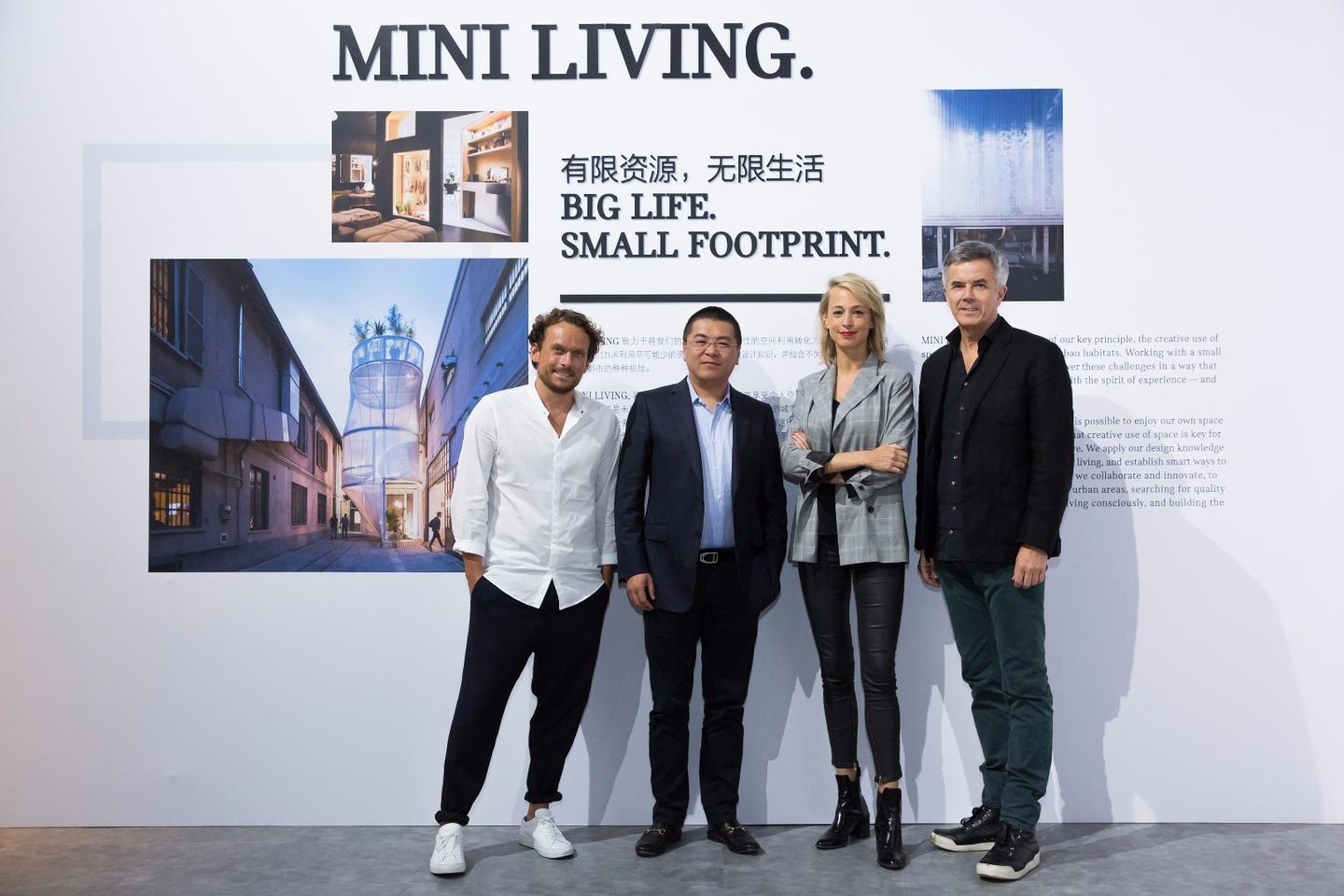 MINI in partnership with Chinese project developer Nova Property Investment Co. are set to convert an abandoned paint factory in the Jing'An district of Shanghai into a smart living initiative
