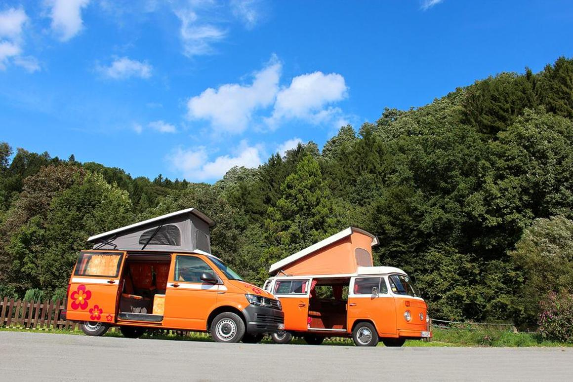 Flow Camper with a classic VW camper