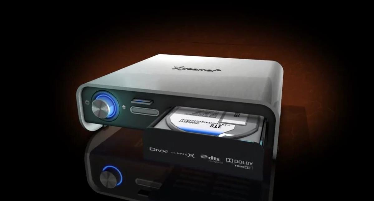 Prodigy's front-loading optical drive bay and SD card reader