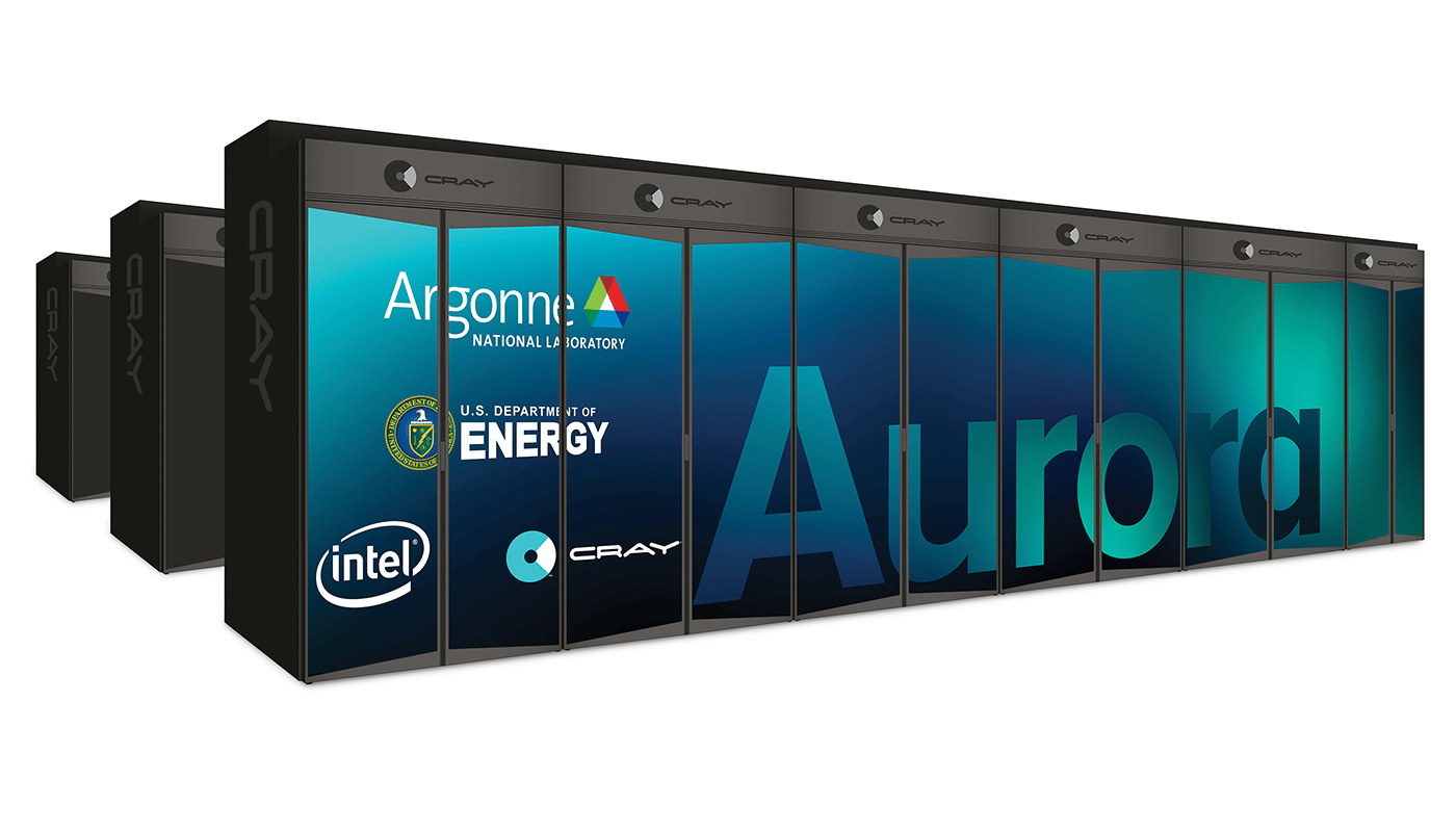 Intel's new supercomputer, named Aurora, will be the first of a new generation of exascale systems when it boots up in 2021