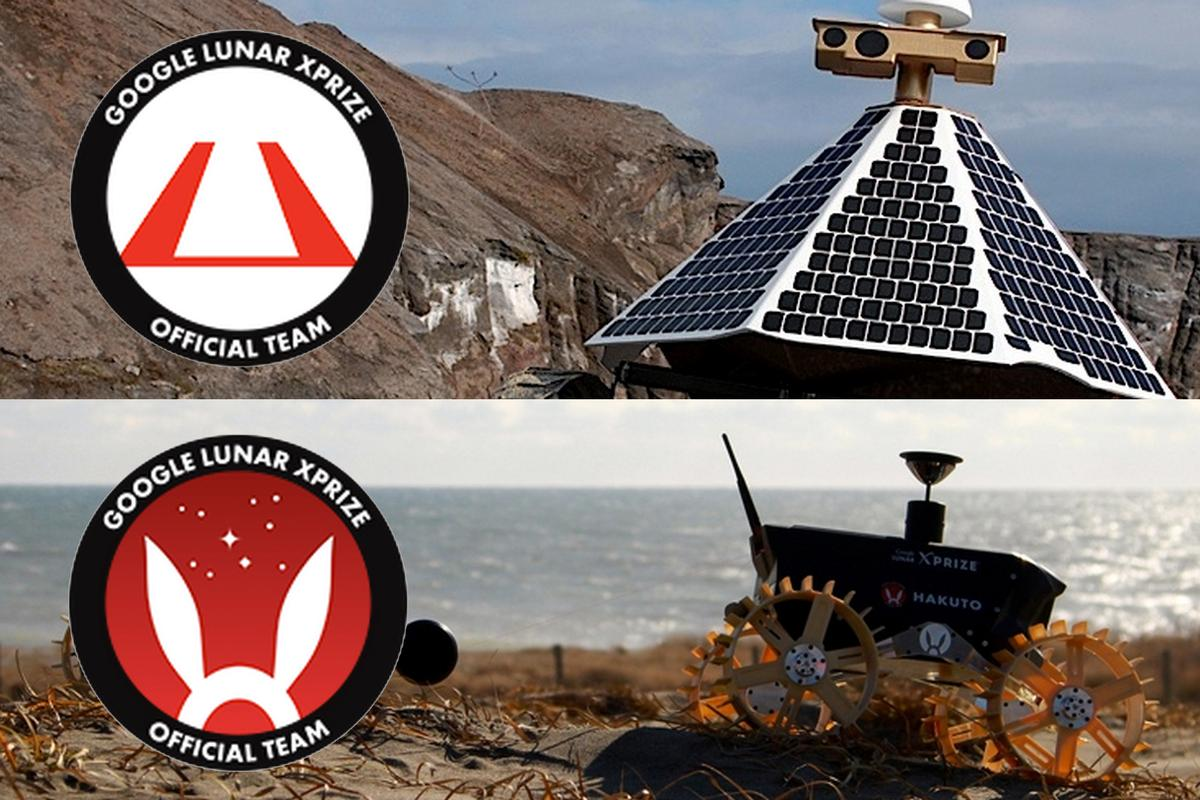 HAKUTO and Astrobotic will work together in their effort to reach the moon (Photo: XPRIZE, HAKUTO, Astrobotics)