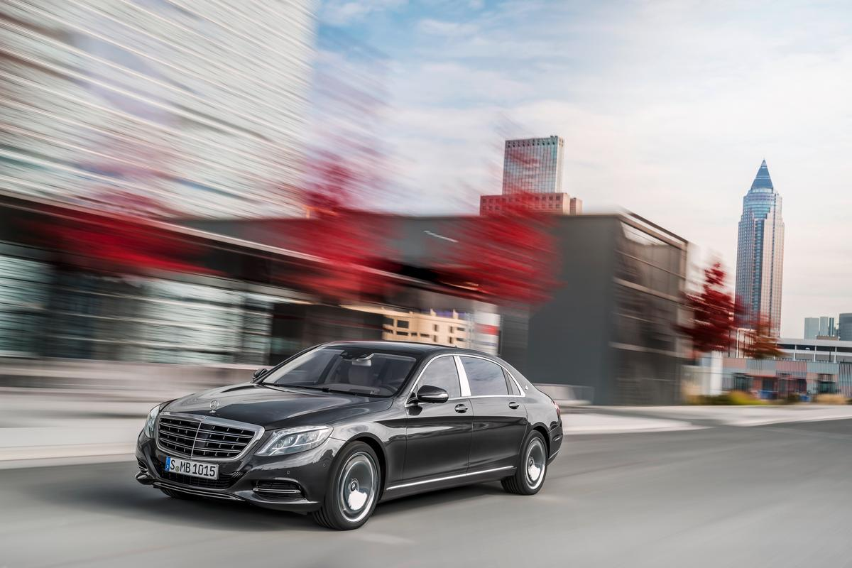 The Mercedes-Maybach S-class revives the Maybach marque