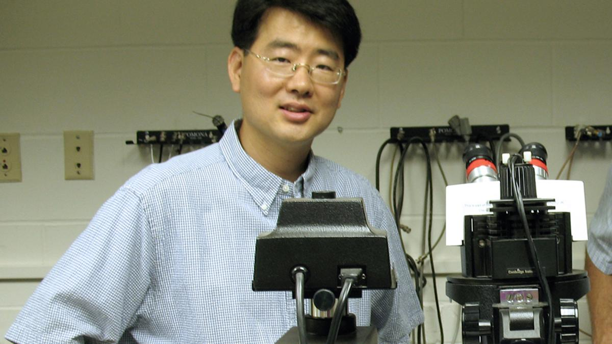 MU researcher Jae Kwon is developing a tiny sensor that could pave the way for home cancer detection kits