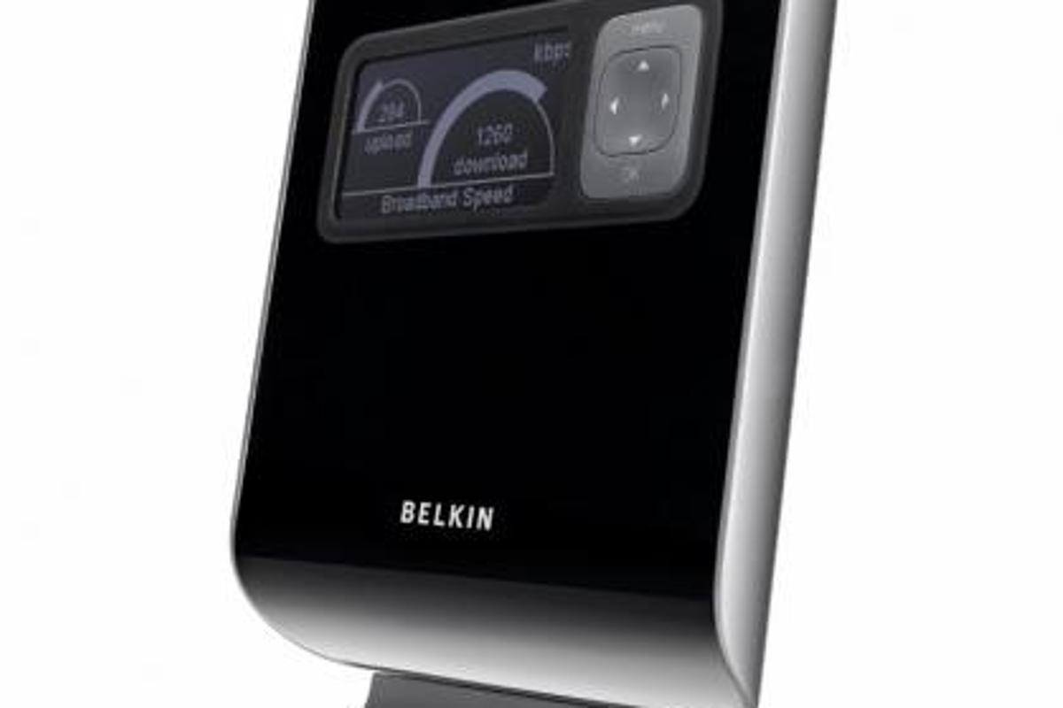 Belkin's N1 Vision wireless router