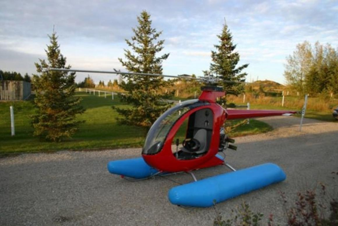 Your own helicopter for under US$20,000