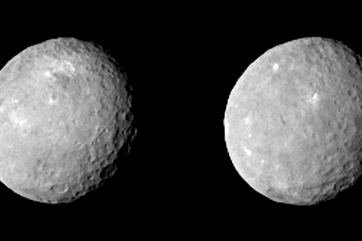 Ceres as shot from NASA's Dawn spacecraft (Image: NASA/JPL-Caltech/UCLA/MPS/DLR/IDA)