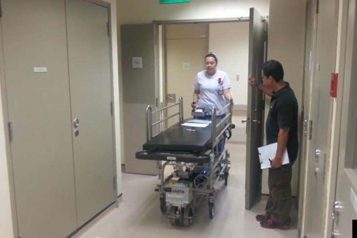 The SESTO system being trialed in Singapore