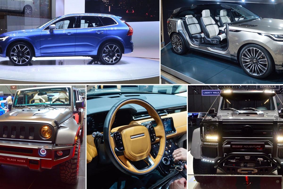 Trucks and SUVs ofGeneva 2017